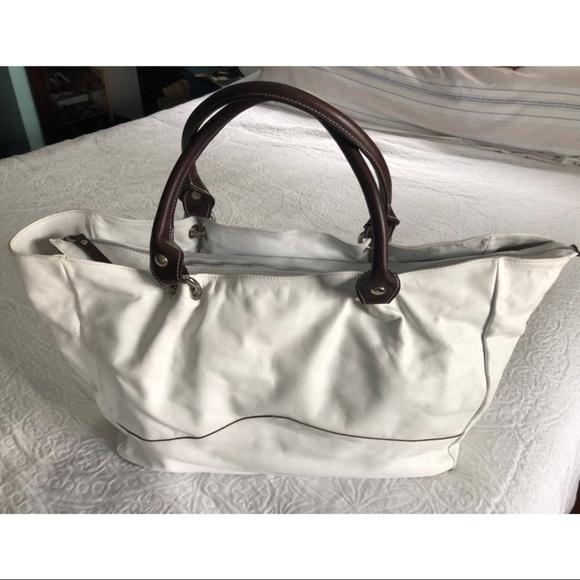 150773b24ecb Cavalcanti Handbags - Cavalcanti White Italian Leather Tote